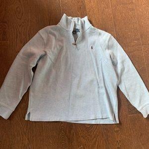 Baby blue men's polo sweater by Ralph Lauren XL